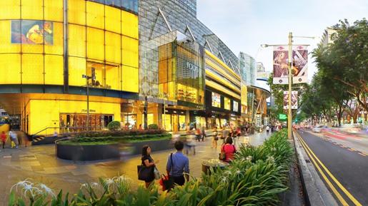 Orchad Road Singapura